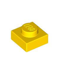 LEGO® Plaat  plate 1x1 geel