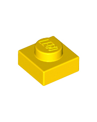 LEGO® Plate 1x1 yellow