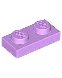 LEGO® Plaque plate 1x2 lavende