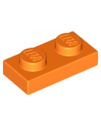 LEGO® Plaat plate 1x2 oranje