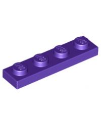 LEGO® Plate plaque 1x4 mauve