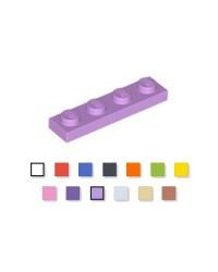 LEGO® Plate Platte  1x4 medium lavendel