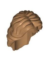 LEGO® Minifigur, Haar weiblich mittellang gewellt mit Mittelteil