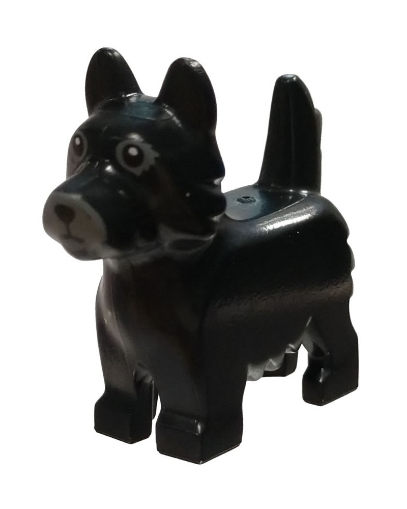 LEGO® Friends dog terrier black 26078pb003