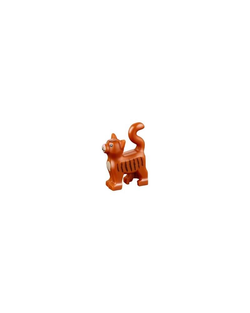 LEGO® Friends braune Katze schwarze Streifen 13786pb02
