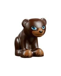 LEGO® kleine beer donkerbruin 14732pb01