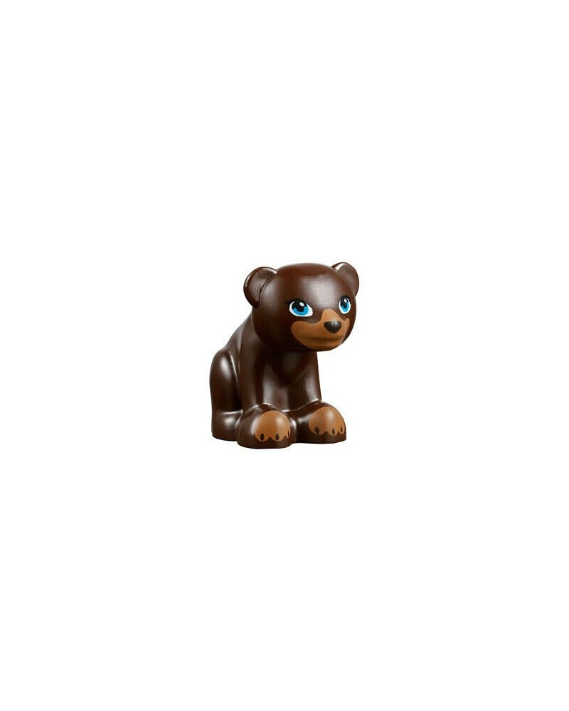 LEGO® Friends little bear dark brown 14732pb01