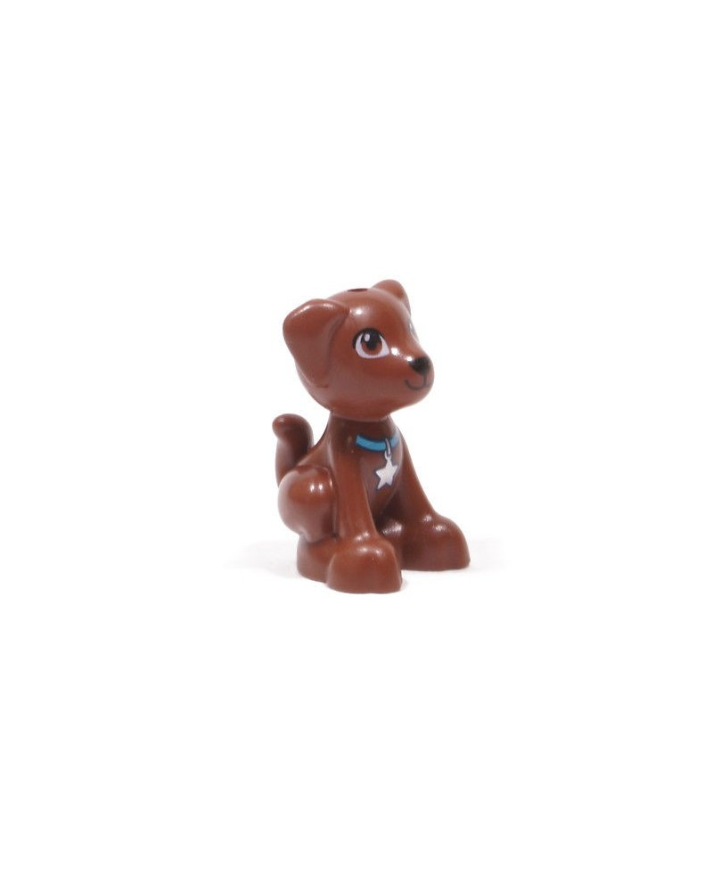 LEGO® hond zittende pup Scout Dash