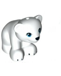 LEGO® Friends weißer Bär Eisbär 14732pb03