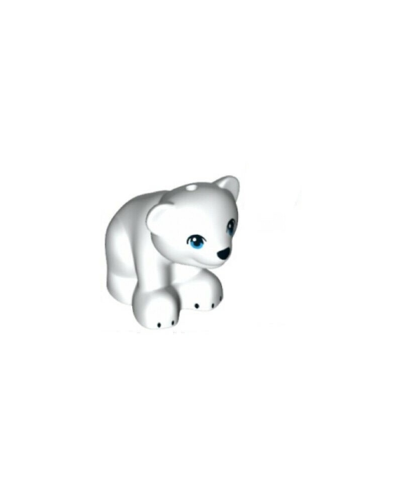 LEGO® Friends white bear polar bear 14732pb03