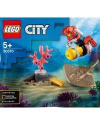 LEGO® City polybag 30370-1 plongeur haute mer