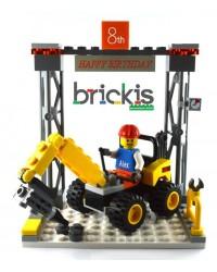 LEGO® Kran Kuchen Topper...