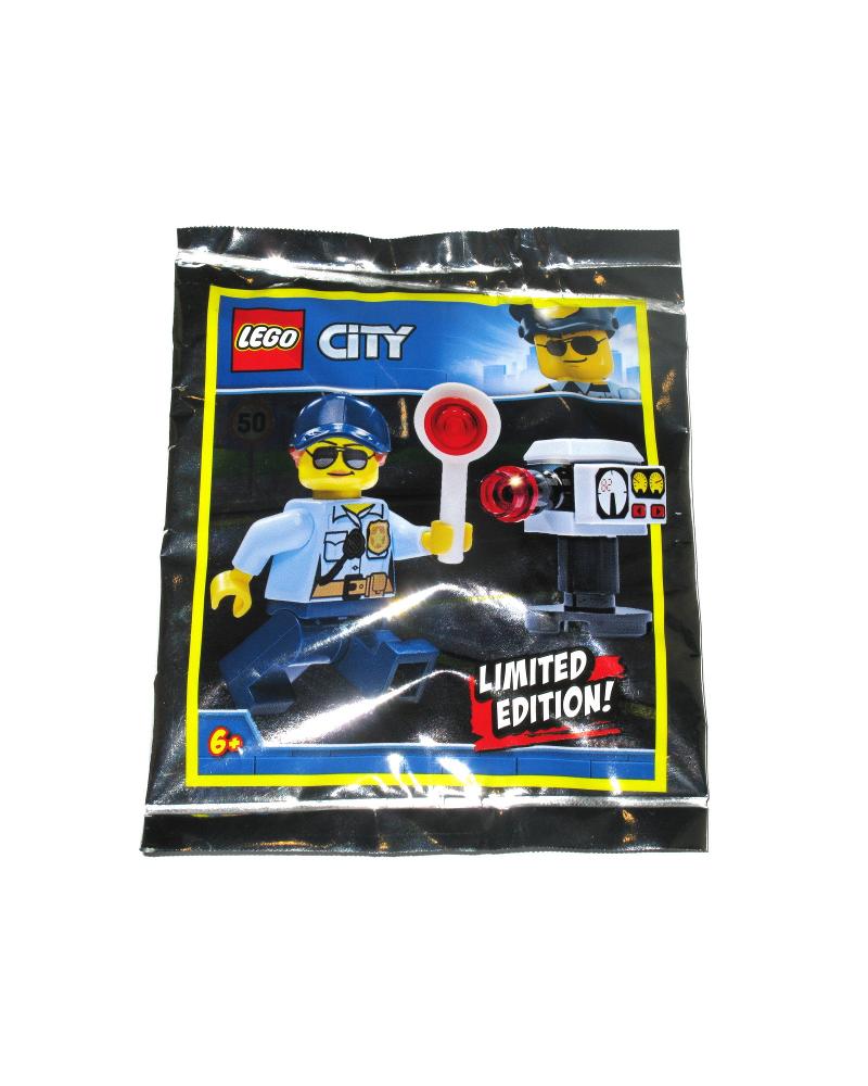LEGO® Minifigure POLICE + accessoires Contrôle de vitesse 951910
