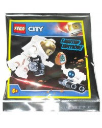 Polybag LEGO® Astronaut robot Rock Crystal moonstone helmet camera LIMITED EDITION
