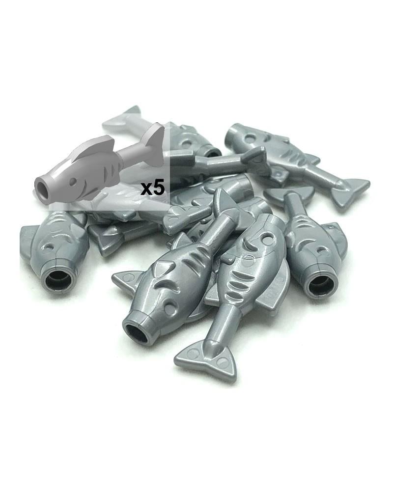 LEGO® vissen x5 eten voor Piraten 64648