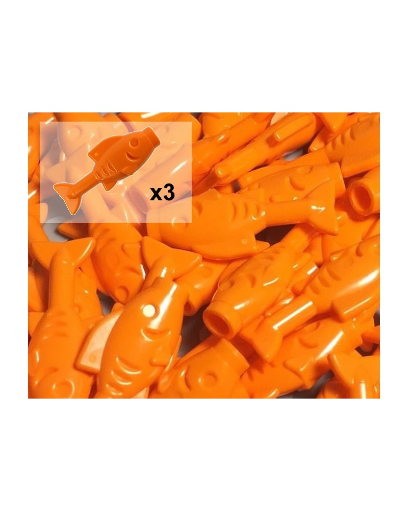 LEGO® goudvissen x3 zee en strand 64648