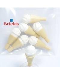 7x LEGO® crème glacée vanille
