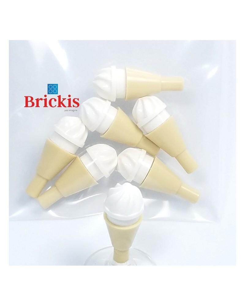7x LEGO® Eiscreme mit Vanille