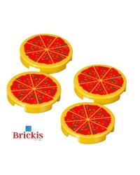 4x LEGO® pizza