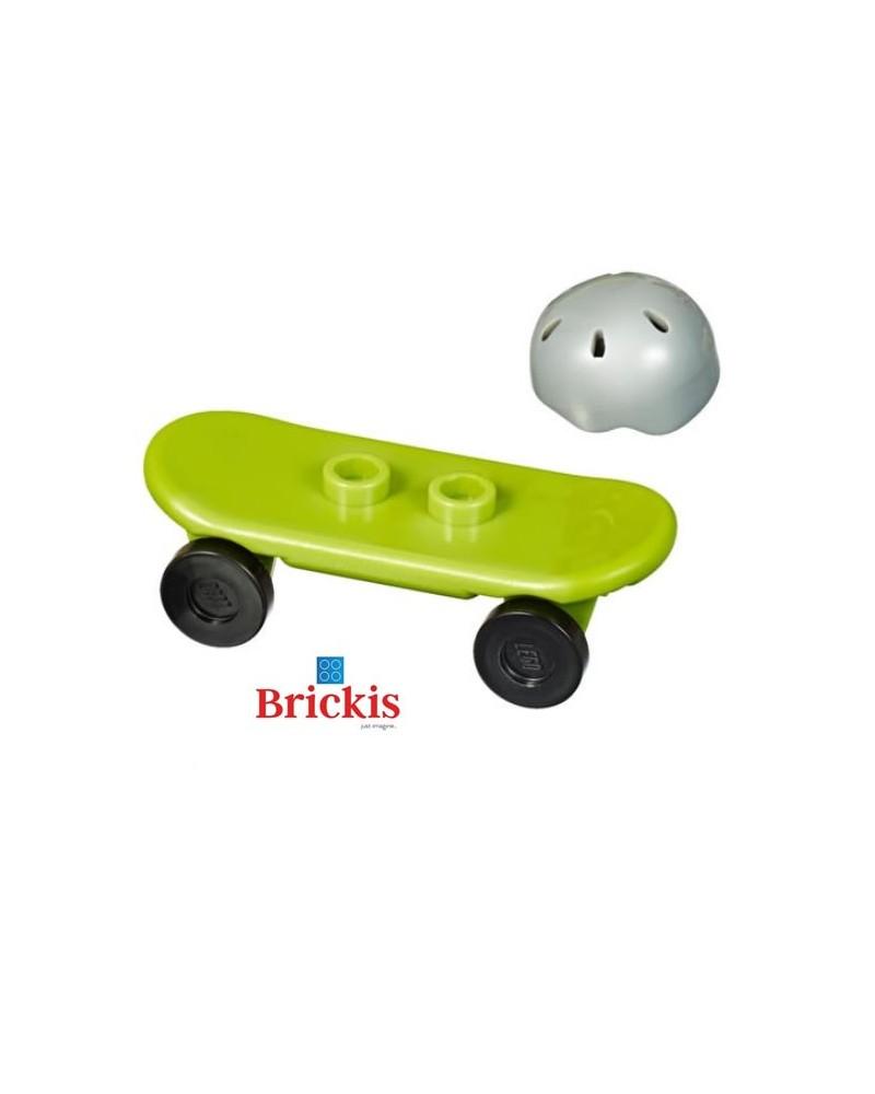 LEGO® skateboard + casque