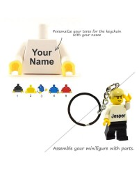 Torso for keychain LEGO® Minifigure