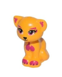 LEGO® Friends Cat Elves orange 11602pb05