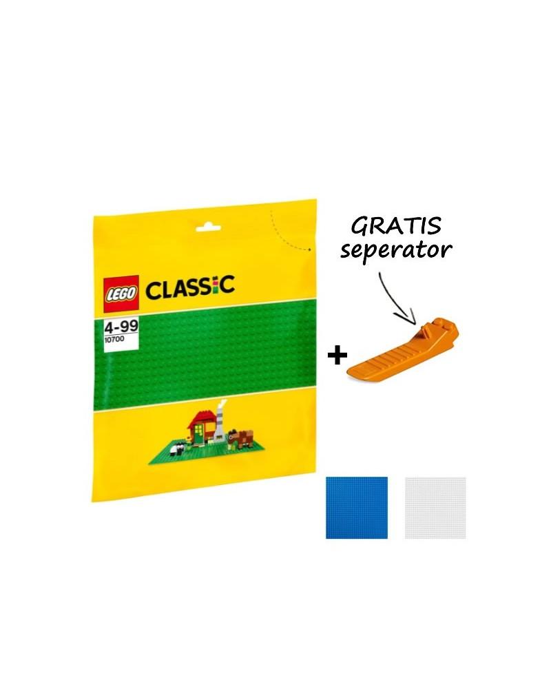 LEGO® Plaque de construction 32x32 clous 25x25cm + séparateur GRATUIT