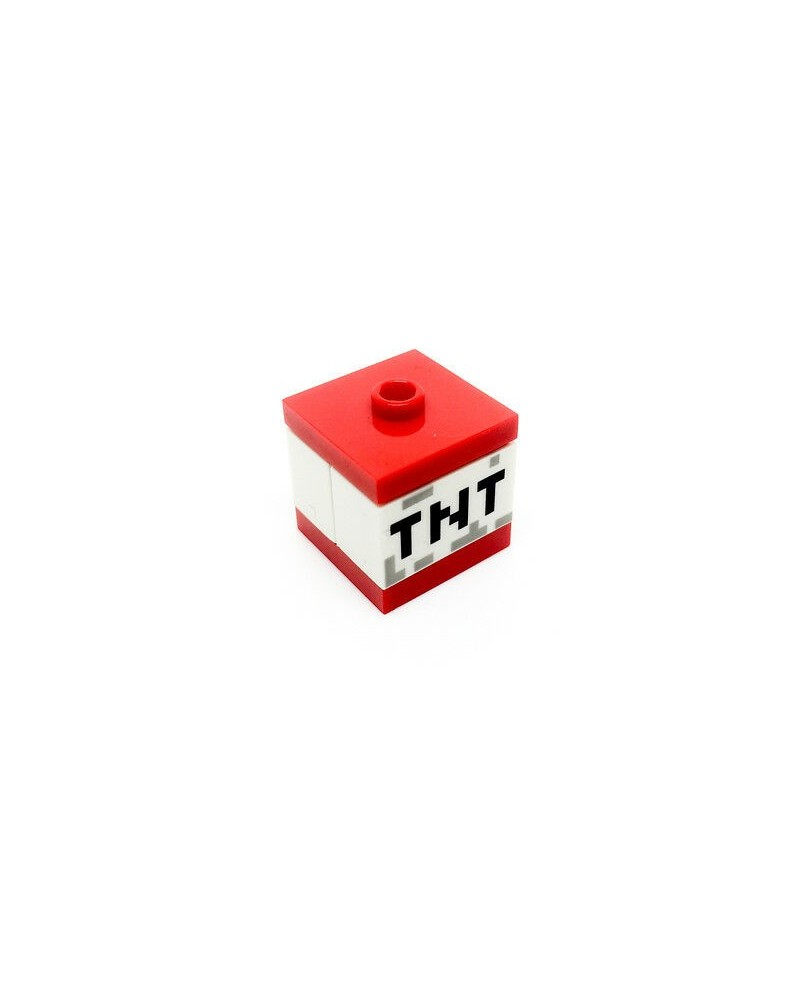 LEGO® Minecraft loose TNT bomb brick