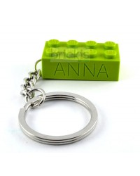 LEGO ® keychain personalised with name