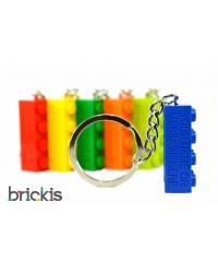 LEGO® keychain personalised engraved with your name