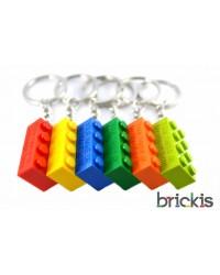 100 LEGO® sleutelhangers gepersonaliseerd