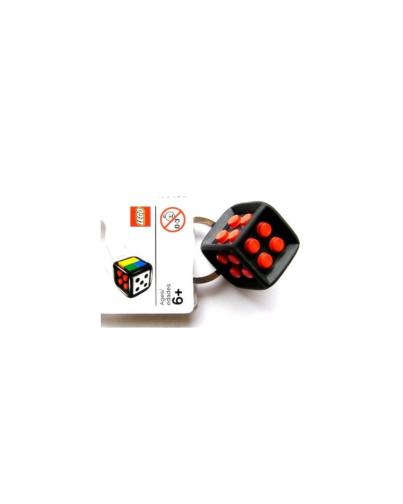 LEGO® sleutelhanger bordspel teerling 2853383