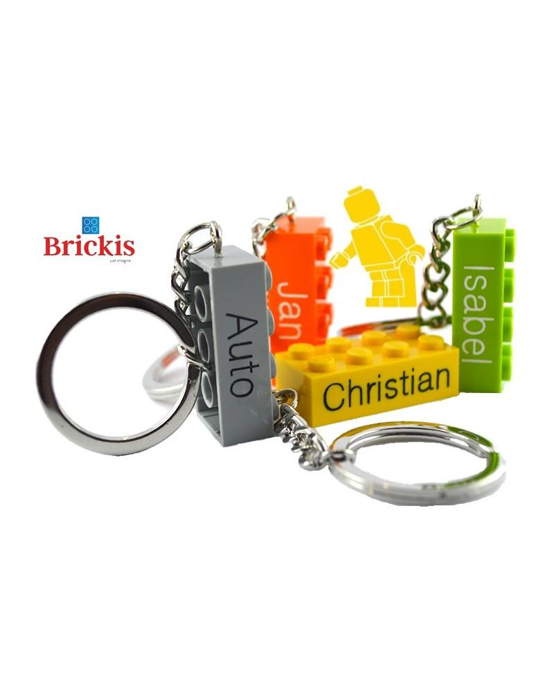 LEGO® keychain personalised