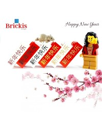 LEGO® Gelukkig Nieuwjaar in Chinese tekens