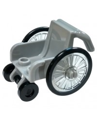 LEGO® wheelchair for minifigures
