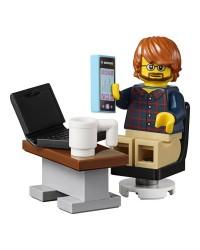 LEGO® minifigura empresario + accesorios