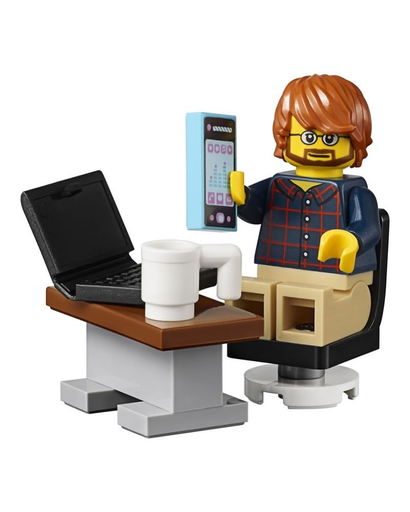 LEGO® minifigure businessman + accessories