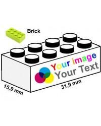 LEGO® steine 2x4 bedruckt