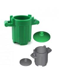 LEGO® TRASH can GARBAGE bin