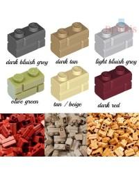 LEGO® ladrillo de construccion 1x2