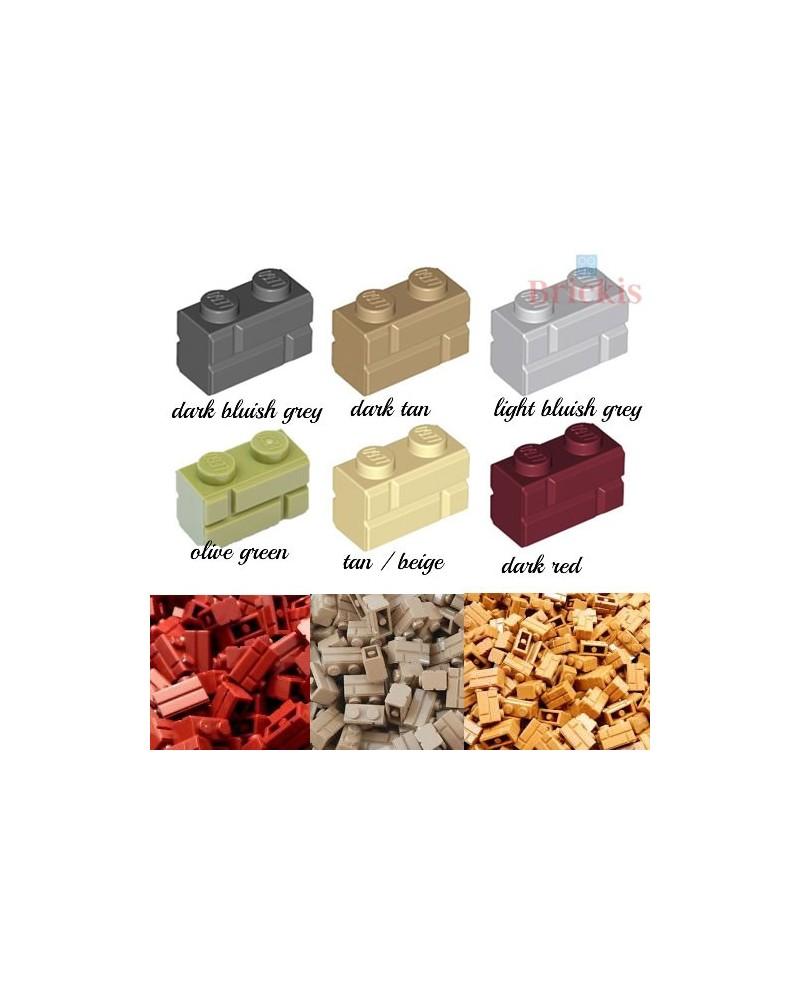 LEGO® brique pierre de maçonnerie 1x2