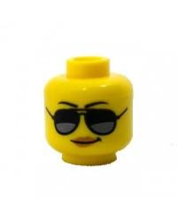 LEGO® tête de femme lunettes de soleil pour minifigures