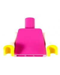 LEGO® torso rosado