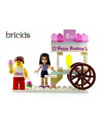 Cumpleaños para la torta de LEGO®