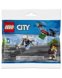 LEGO® City POLICE JETPACK 30362 Original genuine Lego sealed