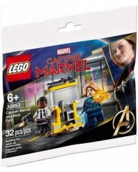 Genuine LEGO® MARVEL Captain Marvel & Nick Fury 30453 includes 2 minifigures Original Lego sealed