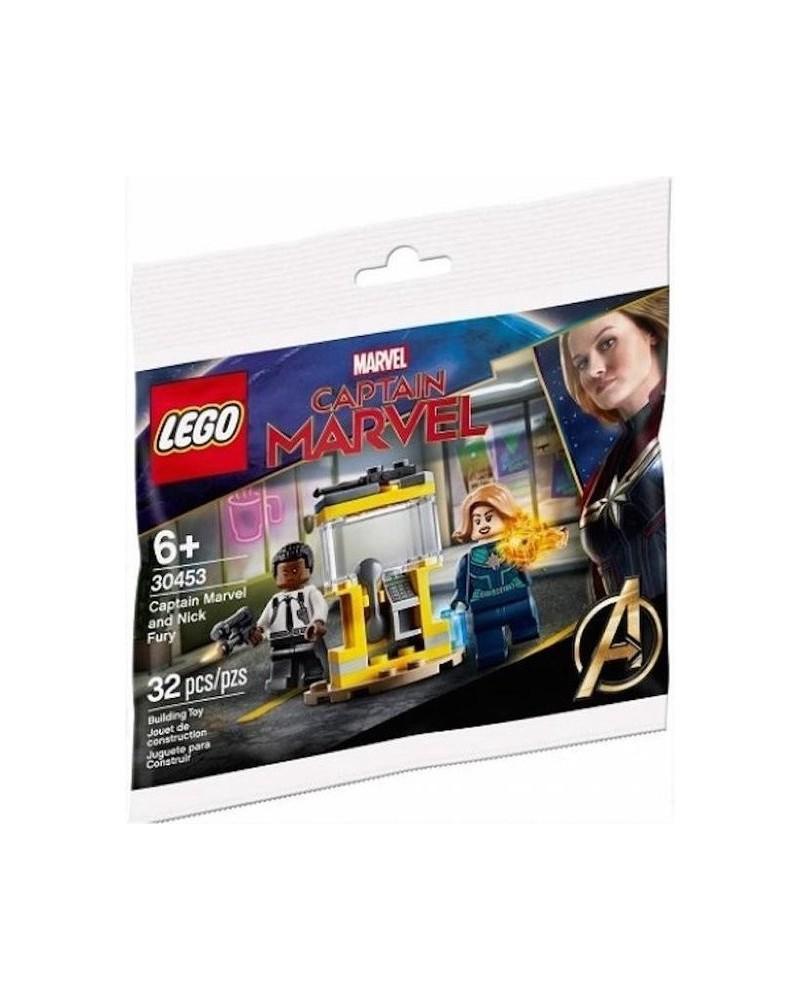 Genuine LEGO® MARVEL Captain Marvel & Nick Fury 30453 includes 2 minifigures Original Lego sealed