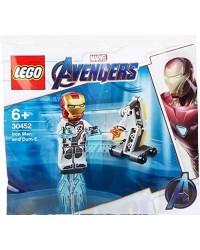 Genuine LEGO® MARVEL AVENGERS Iron Man & Dum E 30452 includes 1 minifigure Original Lego sealed