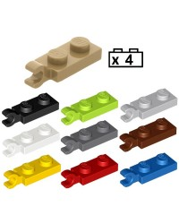 LEGO® 4x Platten, Modified 1 x 2 with Clip on End (Horizontal Grip) 63868