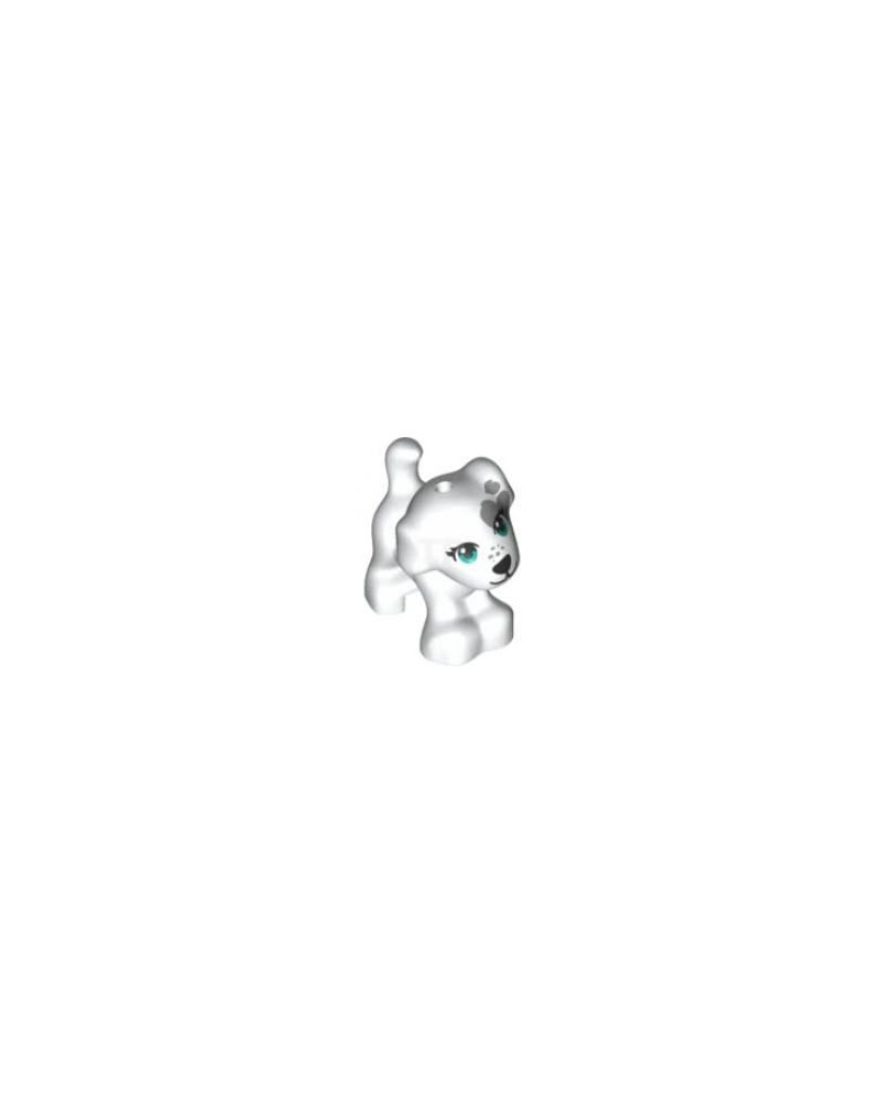 LEGO® white puppy dog 93088pb10